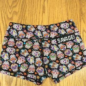 Savage Barbell shorts